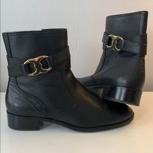Tory Burch Black Ankle Boots